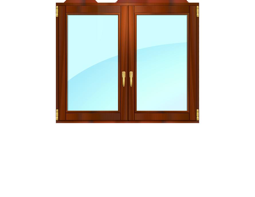 Реставрация утепление двустворчатого окна